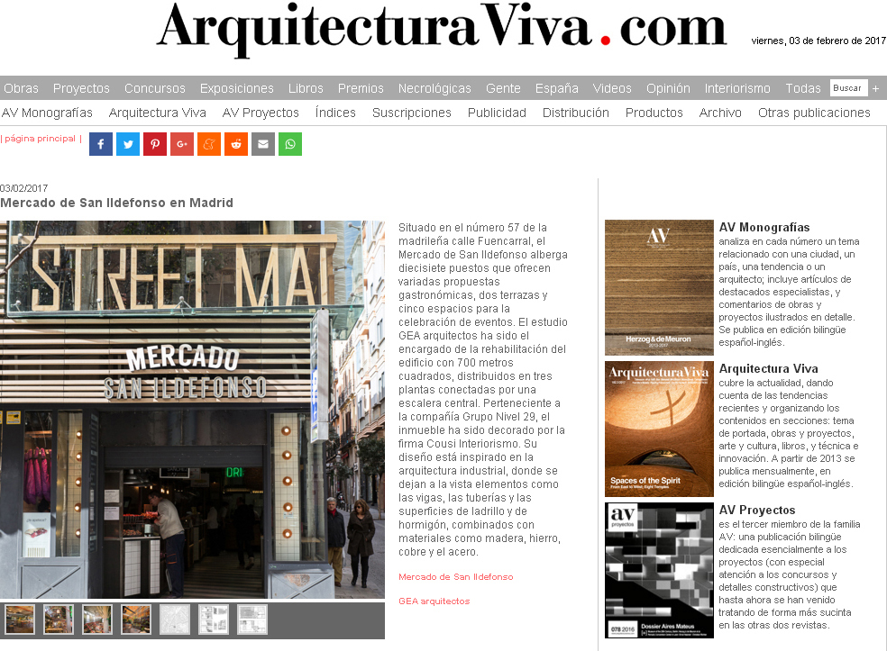 News Gea Arquitectos